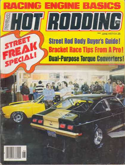 Hot Rodding - June 1977