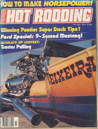 Hot Rodding - July 1977