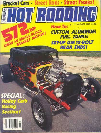 Hot Rodding - August 1977