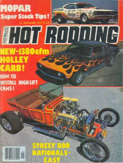 Hot Rodding - September 1977