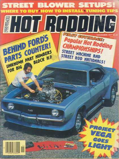 Hot Rodding - November 1977