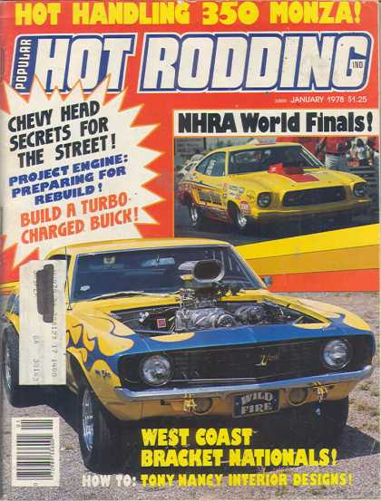Hot Rodding - January 1978