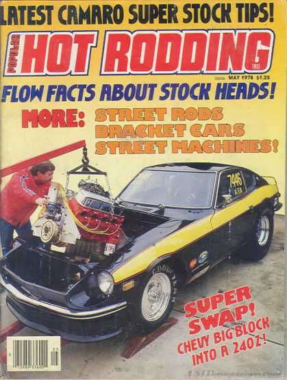 Hot Rodding - May 1978