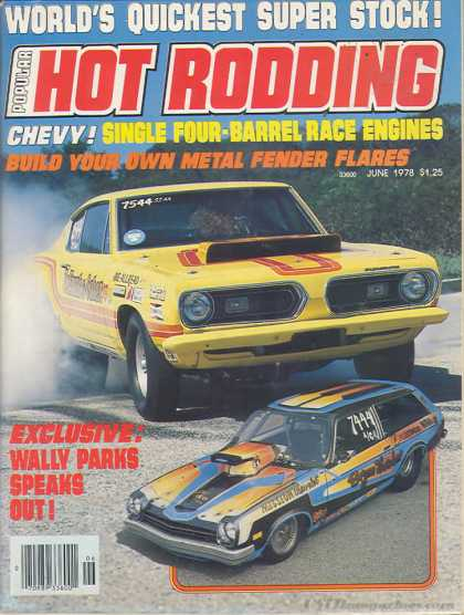 Hot Rodding - June 1978