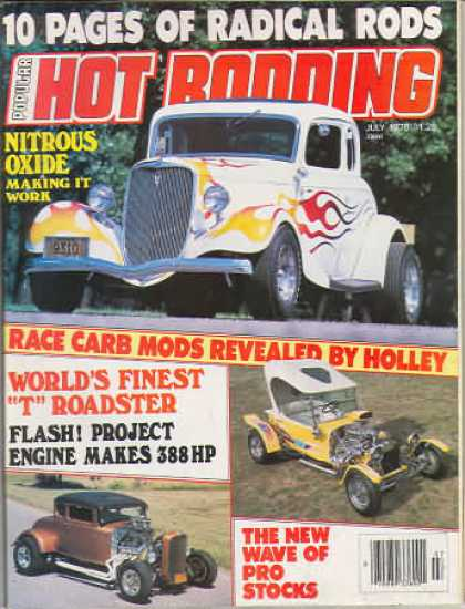 Hot Rodding - July 1978