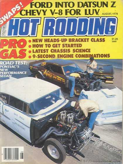 Hot Rodding - August 1978