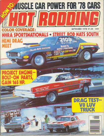 Hot Rodding - September 1978