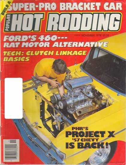 Hot Rodding - November 1978