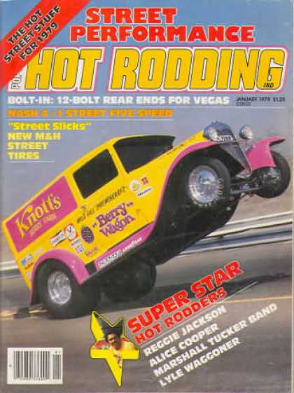 Hot Rodding - January 1979