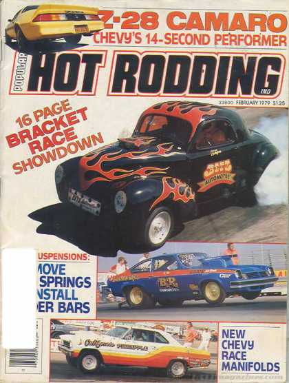 Hot Rodding - February 1979