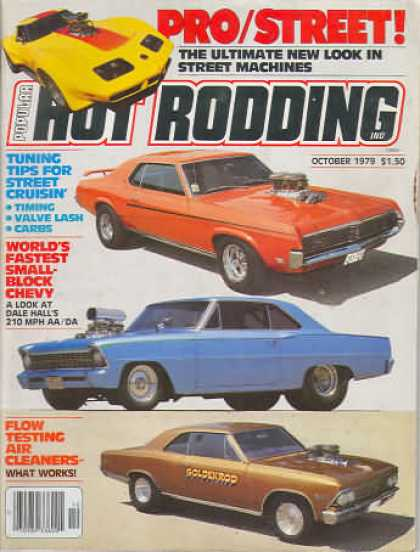 Hot Rodding - October 1979