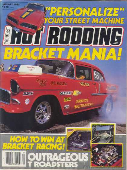 Hot Rodding - January 1980