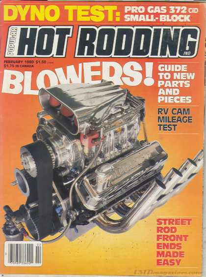 Hot Rodding - February 1980