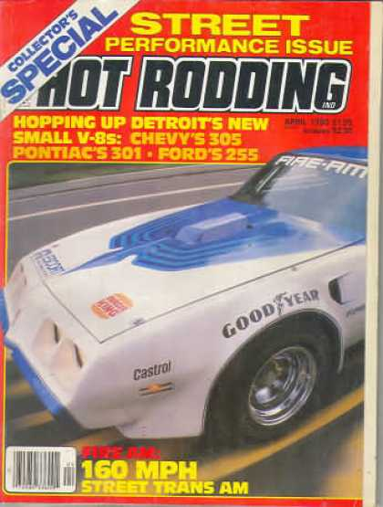 Hot Rodding - April 1980
