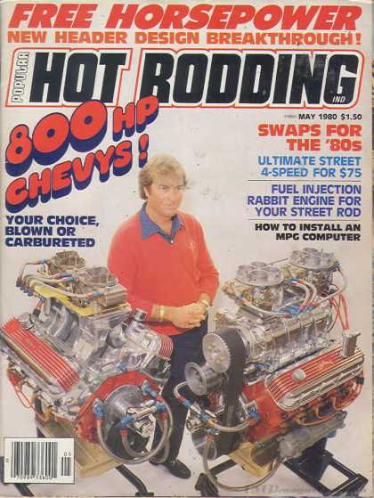 Hot Rodding - May 1980