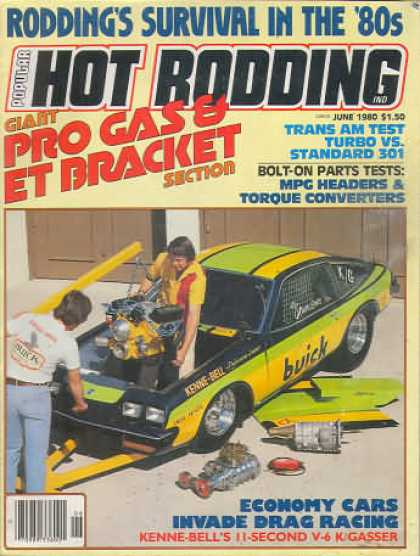 Hot Rodding - June 1980