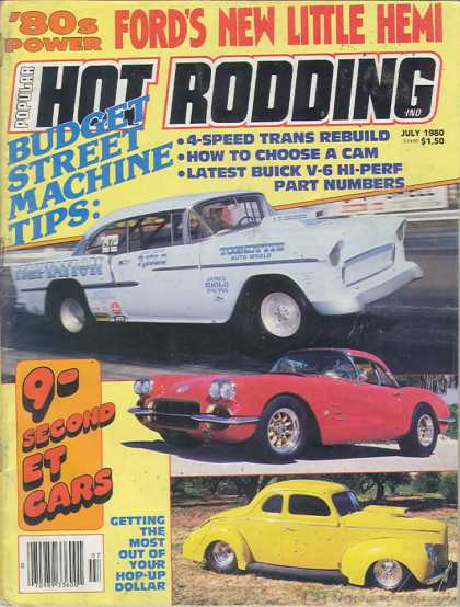 Hot Rodding - July 1980