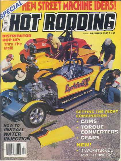 Hot Rodding - September 1980