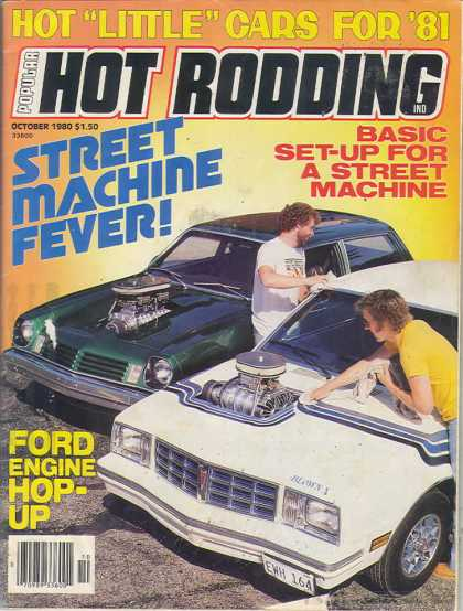 Hot Rodding - October 1980