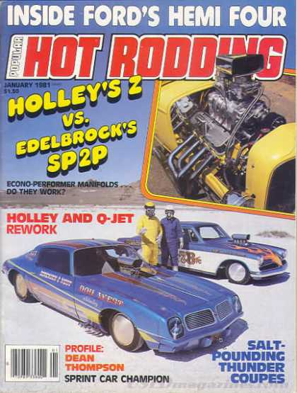 Hot Rodding - January 1981