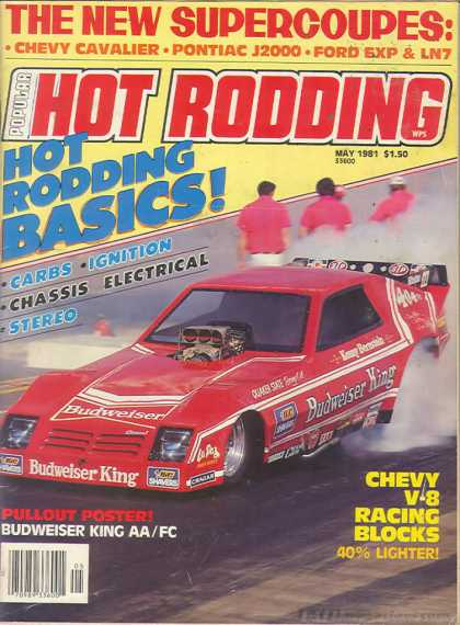 Hot Rodding - May 1981
