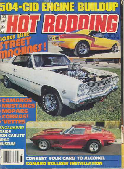 Hot Rodding - July 1981