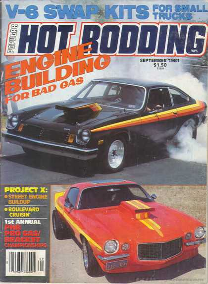 Hot Rodding - September 1981