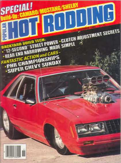 Hot Rodding - November 1983