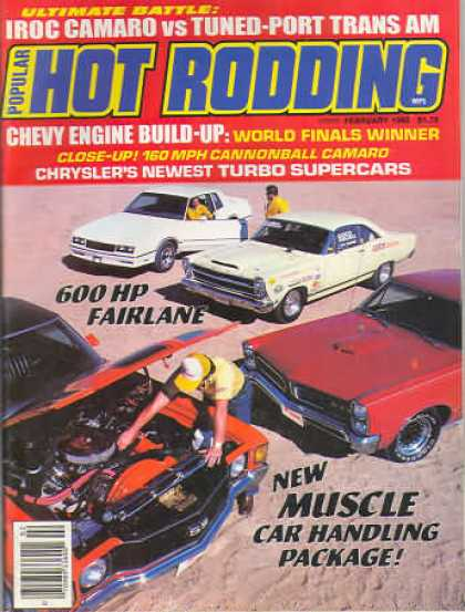 Hot Rodding - February 1985