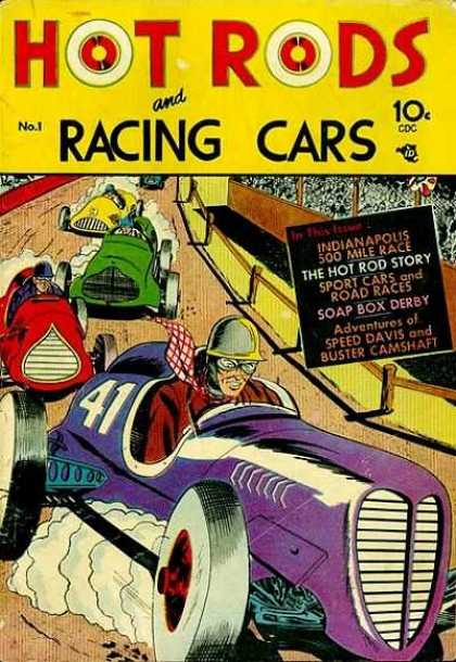 Hot Rods and Racing Cars 1