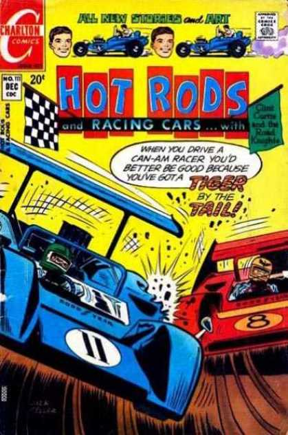 Hot Rods and Racing Cars 111 - Hot Rods - Racing Cars - Crashing - Got A Tiger By The Tail - Road