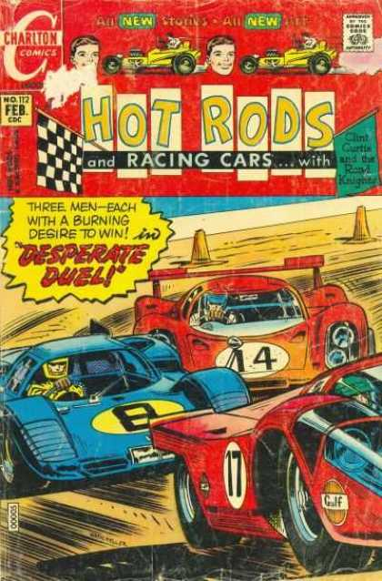 Hot Rods and Racing Cars 112 - Desperate Duel - 14 - 8 - 17 - Blue