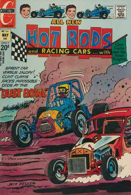 Hot Rods and Racing Cars 114