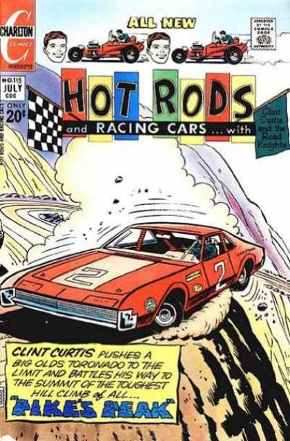 Hot Rods and Racing Cars 115