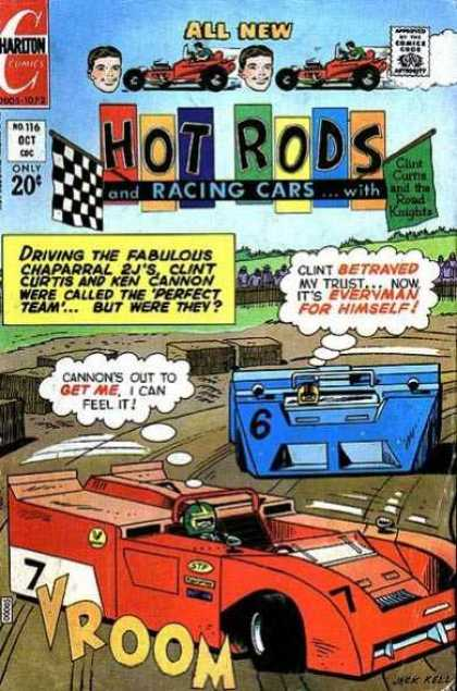 Hot Rods and Racing Cars 116