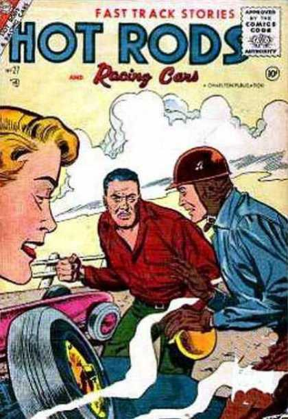 Hot Rods and Racing Cars 27 - Racing Car - Stories - Fast Track - Comics
