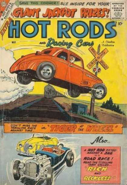 Hot Rods and Racing Cars 40