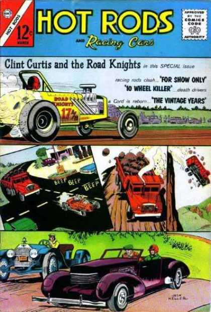 Hot Rods and Racing Cars 61 - Cars - Trucks - Racing - Vintage - For Show