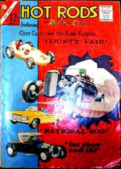 Hot Rods and Racing Cars 68