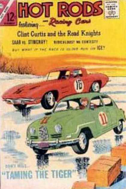 Hot Rods and Racing Cars 71 - Marvel Comics - Muscle Car - 12 Cents - Taming The Tiger - Drivers
