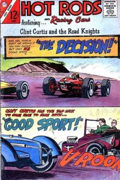 Hot Rods and Racing Cars 79 - Hot Rods - Racing Cars - The Decision - Clint Curtis - Vroom