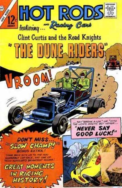 Hot Rods and Racing Cars 80 - Cars - 12cc - Clint Curtis - Road Knights - Dune Riders