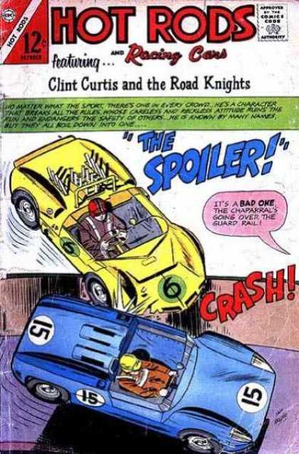 Hot Rods and Racing Cars 81 - Clint Curtis An D The Road Kinghts - The Spoiler - Crash - Chapparals - Featuring