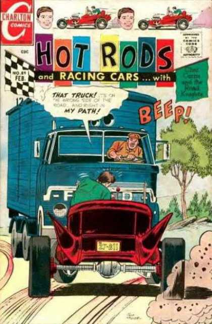 Hot Rods and Racing Cars 89 - Hat Rods - And Racing Cars - Beep - Charlton - That Truck
