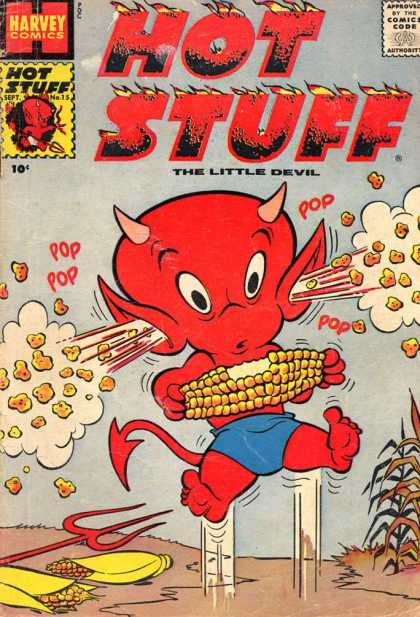 Hot Stuff 15 - Harvey Comics - Approved By The Comics Code - The Little Devil - Pop - September