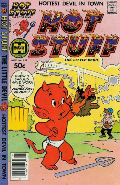 Hot Stuff 157 - Ball - Glove - Baseball - Devil - Play