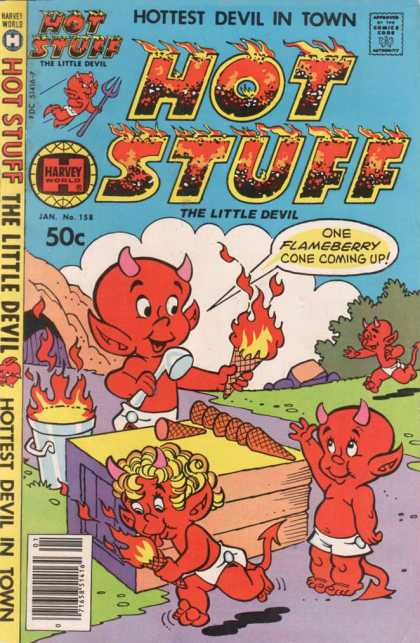 Hot Stuff 158 - Hell - Demon Ice Cream - Demon - Devil - Little Devil