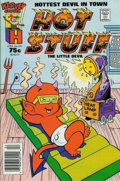 Hot Stuff 168 - Little Devil - Heat Lamp - Burning - Septer - Diaper