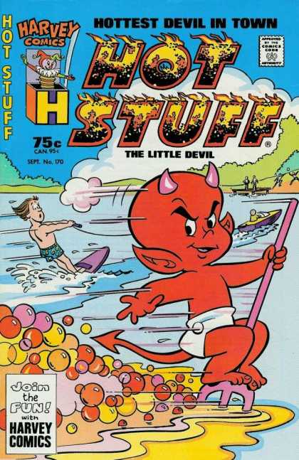 Hot Stuff 170 - Hot Stuff - The Little Devil - Water Boat - Lake - Balloon