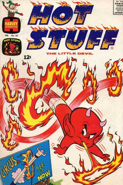 Hot Stuff 82 - Devil - Fire - Red - Circus - Ring